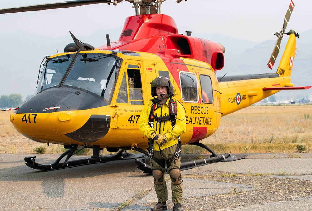 Kamloops native returns for Canadian Armed Forces support against wildfires
