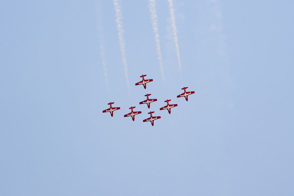 City of Cold Lake hosts Aqua Days featuring the RCAF Snowbirds and CF-18 Demo Team