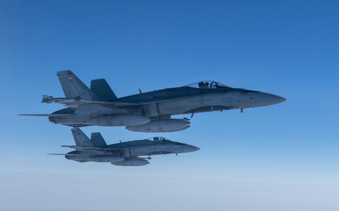 Military Exercise taking place at 4 Wing Cold Lake