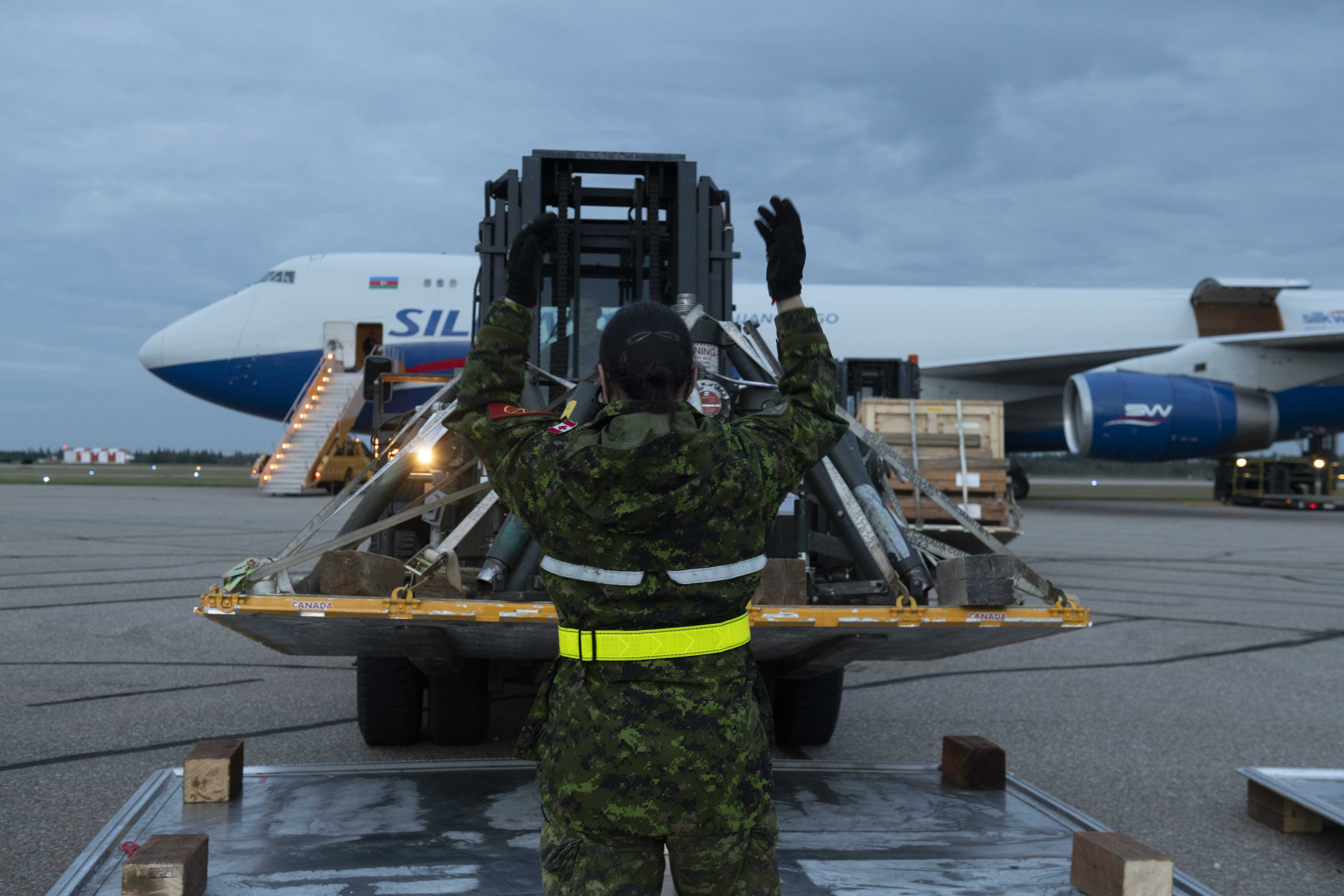 4MSS Air Movement Section Traffic Technicians Keep Things Moving at 4 Wing